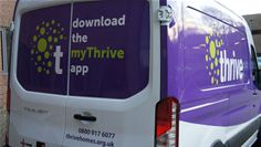 Thrive Homes' Van